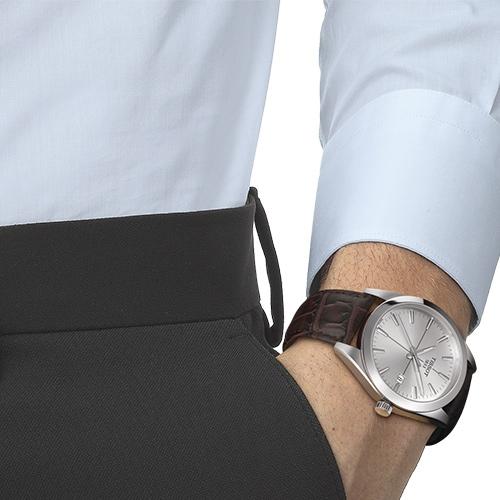 TISSOT天梭 GENTLEMAN紳士密令石英男錶(T1274101603101)