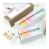 手帳裝飾必備紙膠帶│色彩寶盒純色紙膠帶組/12色入