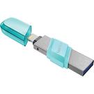 【免運費】SanDisk iXpand Flip 64GB 綠 隨身碟 64G 雙介面 / OTG / for iPhone and iPad / iXpand Flip / 90064