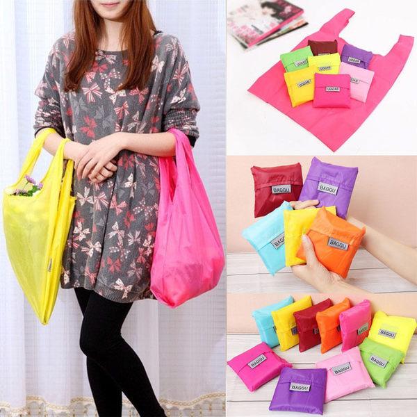 【小方包購物袋】日系折疊環保手提袋 收納袋