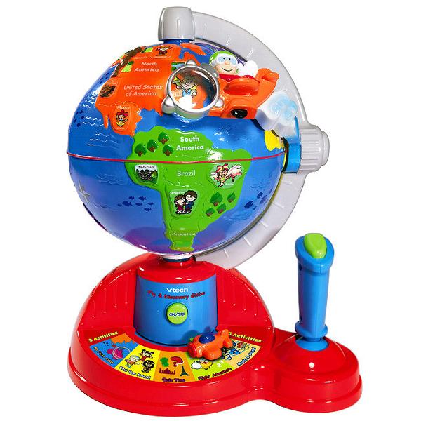 【 Vtech 聲光玩具 】飛行學習地球儀╭★ JOYBUS玩具百貨