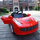兒童汽車 兒童電動車四輪汽車男女玩具車可坐人遙控童車充電小孩自駕車TW【快速出貨八折鉅惠】