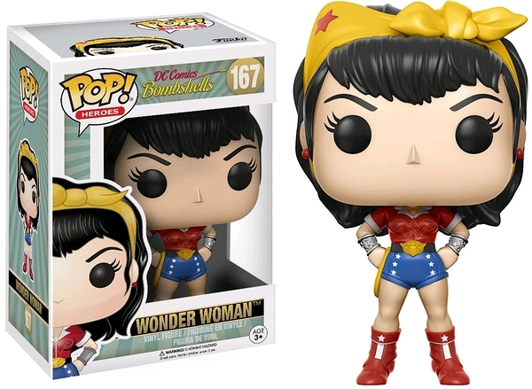 【 Funko 】POP! DC系列 Bombshell 神力女超人 w/Chase╭★ JOYBUS玩具百貨