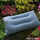 全棉水洗棉枕頭枕芯單人成人羽絲絨護頸枕學生枕頭一隻裝 潔思米 YXS