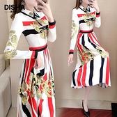 女神衣2021春季裙子女2021新款高冷御姐風成熟連身裙秋冬氣質女神范衣服LX 嬡孕哺