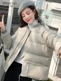 2020秋冬女裝新款chic棉襖ins面包棉服外套短款韓版加厚羽絨棉衣