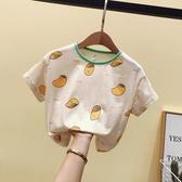 女童T恤 男女童短袖T恤夏裝2020新款韓版童裝1-5小童卡通半袖體恤【快速出貨】