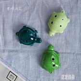 陶笛 陶瓷民族迷你樂器 6孔 中音C調初學兒童玩具烏龜小擺件 DR17516『東京潮流』