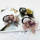 盤髪器 丸子頭花朵盤髮器韓國淑女成人頭飾造型器百變蓬松花苞頭懶人髮飾