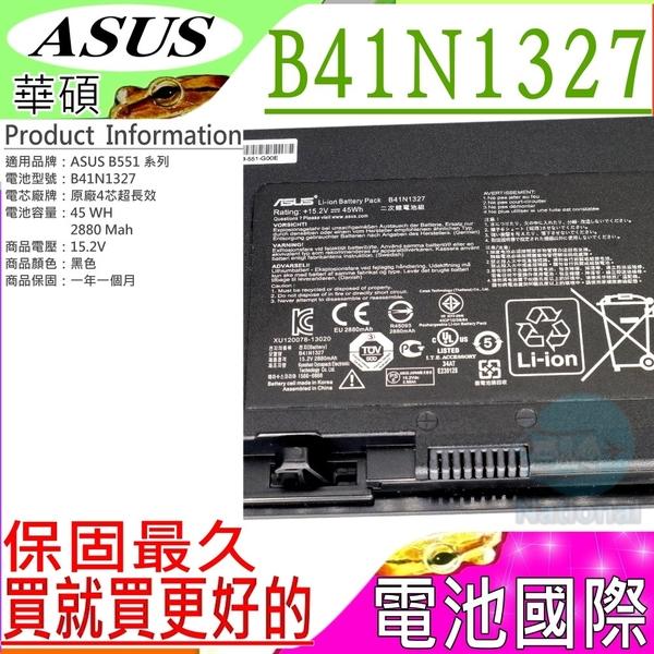 ASUS B41N1327 電池(原廠)-華碩 B551,B551LG,B551LA,B551L,PRO B551,B551LG,B551LA,B551L
