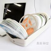 光盤盒CD包大容量DVD光碟盒CD盒碟片收納盒家用帶鎖盒子(七夕禮物)