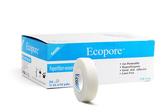 【醫康生活家】Ecopore透氣膠帶 白色0.5吋  1.25cmx9.2m  (24入/盒)
