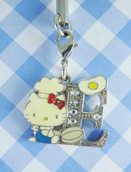 【震撼精品百貨】Hello Kitty 凱蒂貓~KITTY手機吊飾-KITTY英文字母造型-E