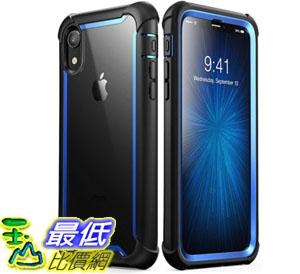 手機保護殼 iPhone XR Case, i-Blason [Ares] Full-Body Rugged Clear Bumper Case Built-in Screen