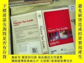 二手書博民逛書店CHINA罕見Master Tax Guide 2006 07 中國稅收指南Y180897