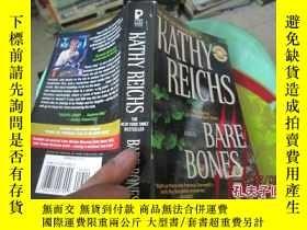 二手書博民逛書店BARE罕見BONES KATHY REICHS 書名如圖 37-4Y20079 BARE BONES KAT