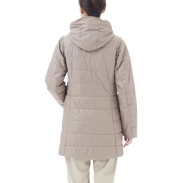 [好也戶外]mont-bell THERMALAND女款雙面化纖長版外套 玫瑰棕/可可 No.1101444-RG/CB