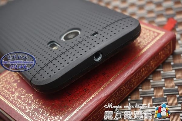 HTC M10官網手機殼網式透氣殼htc10散熱殼M8超薄外殼磨砂殼防摔M9 魔方