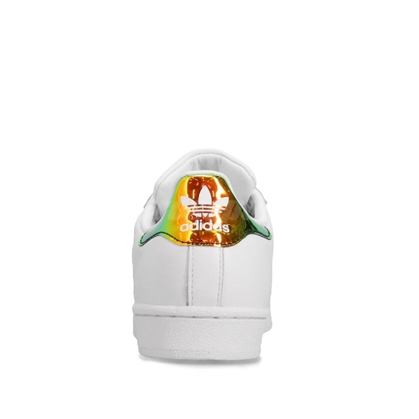 adidas 休閒鞋 Superstar 白 綠 金 女鞋 運動鞋 【PUMP306】 EG2918