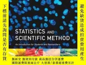 二手書博民逛書店Statistics罕見And Scientific Metho