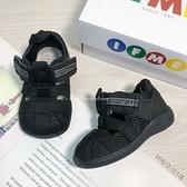 《7+1童鞋》日本 IFME 寶寶機能 學步涼鞋 E410 黑色