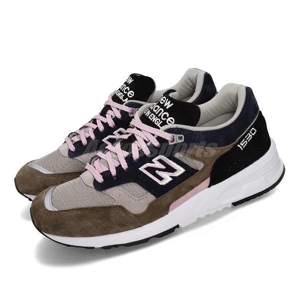 New Balance 慢跑鞋 NB 1530 Haze Pack 卡其 粉紅 男鞋 運動鞋 英國製 【PUMP306】 M1530KGLD
