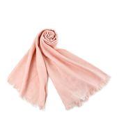 美國正品 COACH 經典Logo羊毛混絲薄圍巾-粉色【現貨】