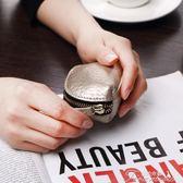 新款迷你零錢包拉鍊二層皮女士錢包短款韓版小清新手拿硬幣袋提拉米蘇
