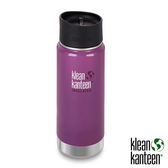 klean kanteen Insulated Wide 16oz寬口保溫鋼瓶(54mm) 附新型咖啡蓋『紫葡萄』K16VWPCC不鏽鋼水壺│保溫杯