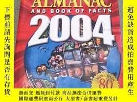 二手書博民逛書店The罕見World Almanac and Book of Facts 2004【世界年鑒和對事實的書2004】