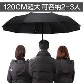 太陽城超大加大號全自動雨傘折疊男三人雙人加固遮陽傘太陽傘防曬  酷男精品館