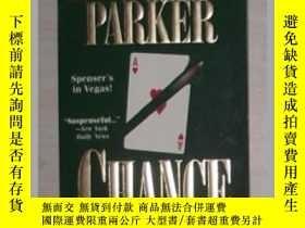 二手書博民逛書店英文原版罕見Chance by Robert B. Parker