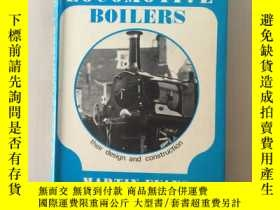 二手書博民逛書店Model罕見locomotive boilers:their design and construction