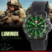 LUMINOX 雷明時 NAVY SEAL COLORMARK 限量版美軍指定碳纖錶 44mm/GN/3067 熱賣中!