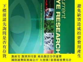 二手書博民逛書店Current罕見Eye Research (Journal) 04 2013眼科學醫學學術論文考研Y1461