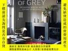 二手書博民逛書店Shades罕見of Grey 優雅中性色調裝飾室內居家裝飾設計書Y238343