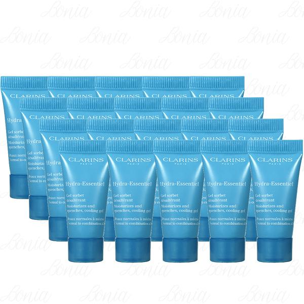 【VT薇拉寶盒】 CLARINS 克蘭詩 水潤奇肌涼感保濕凝凍(5ml)*20