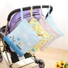 嬰兒尿布袋雙層防水寶寶床頭收納袋