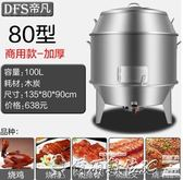 商用燒鴨爐燃氣款烤鴨爐木炭式商用不銹鋼吊爐烤雞爐烤鴨機igo220v爾碩數位3c