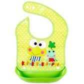 寶寶吃飯圍兜防水加大幼兒小孩口水巾圍嘴嬰兒童仿硅膠食飯兜四季 易貨居