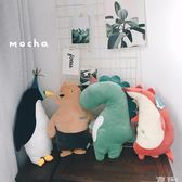 玩偶 日本可愛超軟鱷魚狐貍小熊狗狗睡覺陪伴公仔公主抱毛絨玩偶娃娃 童趣屋