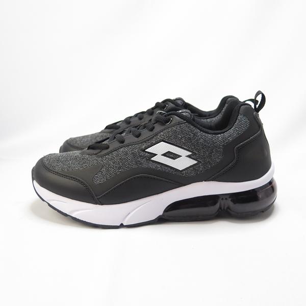 LOTTO FLOAT 氣墊跑鞋 慢跑鞋 緩震 夜間反光 LT0AWR2190 女款 黑【iSport愛運動】