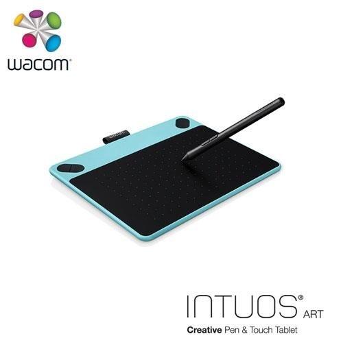 【台中平價鋪】 全新 WWacom Intuos Art 藝術 CTH-490/B0-CX 創意觸控繪圖板-時尚藍(S) 一年保固