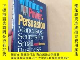 二手書博民逛書店winning罕見with the power of persu