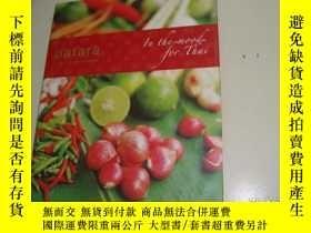 二手書博民逛書店patara罕見FINE THAI CUISINE(外文原版菜譜