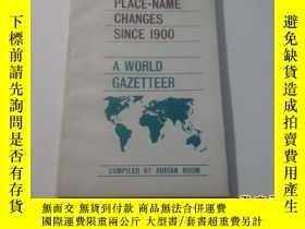 二手書博民逛書店PLACE--NAME罕見SCINE 1900A WORLD G