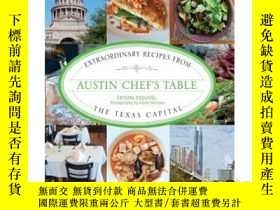 二手書博民逛書店Austin罕見Chef s Table: Extraordin