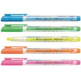 [奇奇文具] 【雄獅 SIMBALION 螢光筆】 雄獅 FM35 螢光筆 (桃紅色/黃色/綠色/藍色/橘色) (12支/盒)