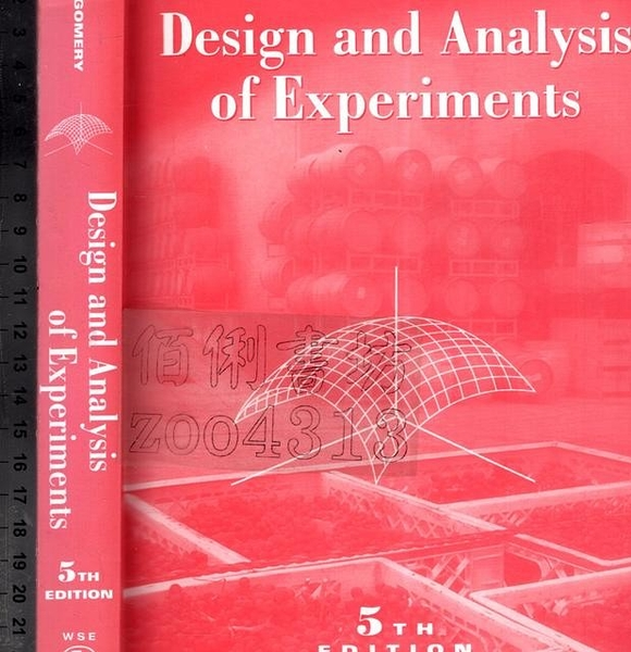 二手書R2YB《Design and Analysis of Experimen