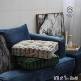 風簡約純色絲絨沙發墊加厚多功能椅墊坐墊靠枕 「潔思米」